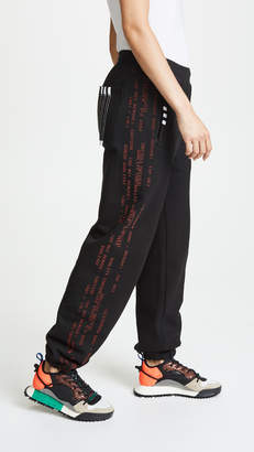 adidas by Alexander Wang AW Joggers