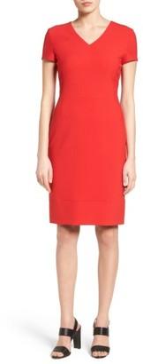 Women's Boss Demida Sheath Dress $545 thestylecure.com