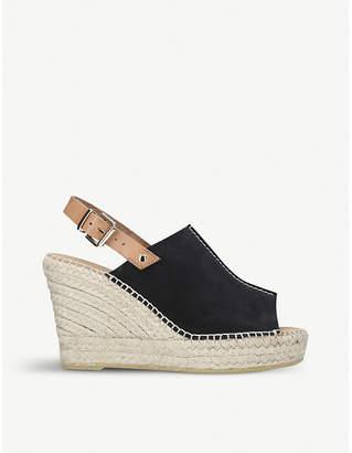 Carvela Kloud suede wedge sandals