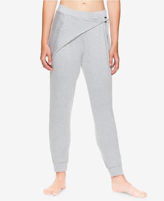 Gaiam X Jessica Biel Bryant Wrap-Detail Fleece Pants