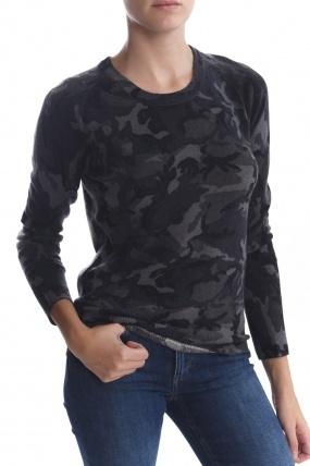 Equipment Sloane Camoflauged Sweater
