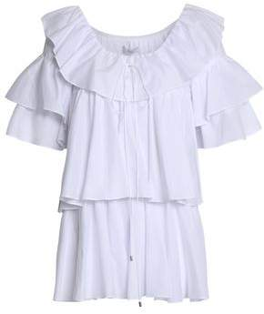 Tome Ruffled Cotton-Poplin Tunic