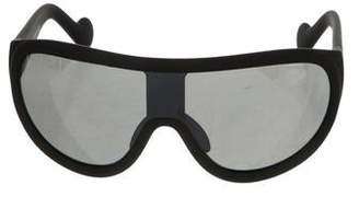 Moncler Tinted Shield Sunglasses