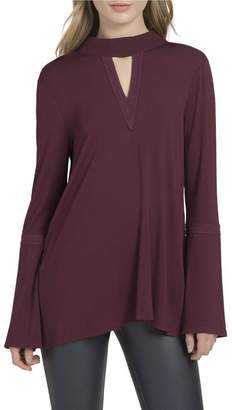 Lysse Ainsley Bell-Sleeve Top
