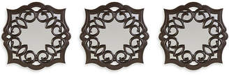 JCPenney Lifetime Brand Set of 3 Bronze Curl Mirrors