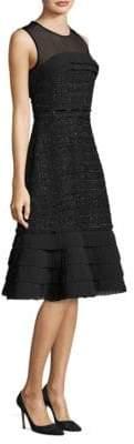 Kate Spade Lotty Tweed A-Line Dress