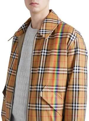 Burberry Harrington Reversible Zip-Front Coat