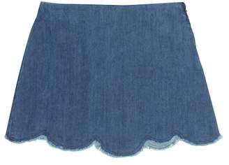 Il Gufo Denim skirt