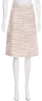 Tome Knee-Length Tweed Skirt
