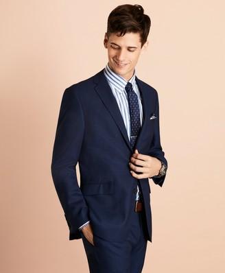 Brooks Brothers Wool Bird's-Eye Suit Jacket
