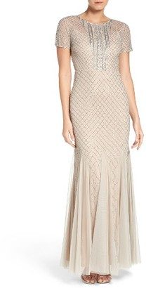 Women's Adrianna Papell New Diamond Gown $349 thestylecure.com