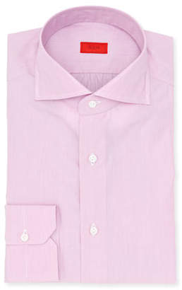 Isaia Micro-Stripe Cotton Dress Shirt