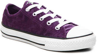 Converse Chuck Taylor All Star Velvet Toddler & Youth Sneaker - Girl's