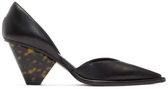 Stella McCartney Black Tortoiseshell Heels