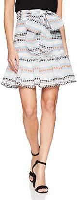 Plenty by Tracy Reese Women's Flounced Skirt