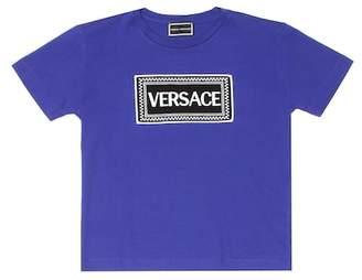 Versace Cotton logo T-shirt