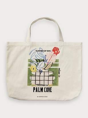 Palm Cove Canvas Bag