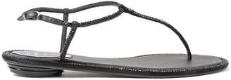 Rene Caovilla Thong H10 Flat Sandals