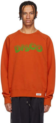 Wacko Maria Orange Disco Washed Heavy Weight Sweatshirt