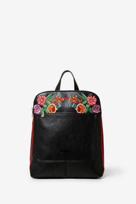 Desigual Floral Backpack Mex Nanaimo
