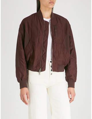 Vince Reversible shell bomber jacket