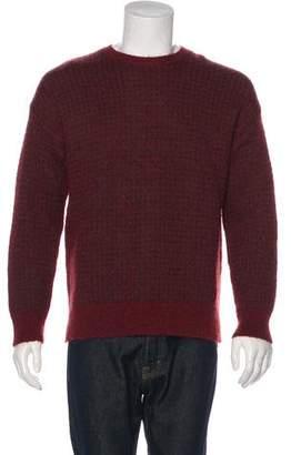 AllSaints Wool-Blend Salvatore Crew Neck Sweater