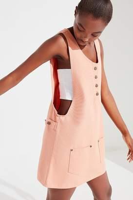 Obey Jeanne Denim Jumper Dress