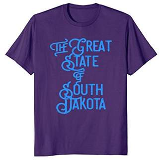 Dakota The Official Great State of South T-Shirt (Blue)