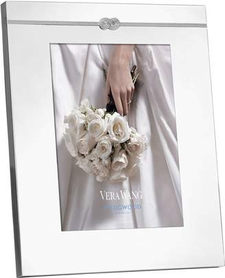 "Wedgwood Vera Wang Infinity Photo Frame (8"" x 10"")"