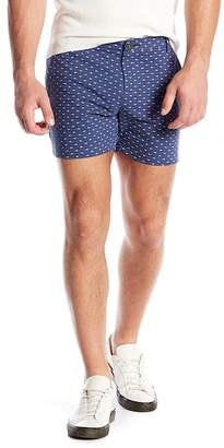 Parke & Ronen Holler Patterned Shorts