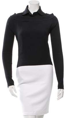 Alexandre Herchcovitch Cutout Collared Top