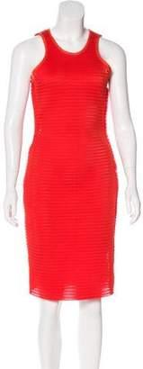 Lanvin Mesh Midi Dress w/ Tags