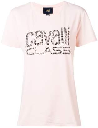 Class Roberto Cavalli studded logo T-shirt