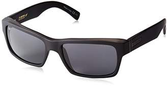 Von Zipper VonZipper Fulton Polar Polarized Rectangular Sunglasses