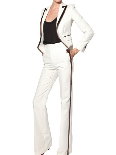 Dsquared - Tuxedo Cotton Twill Suit