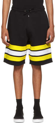 Givenchy Black Contrast Band Shorts