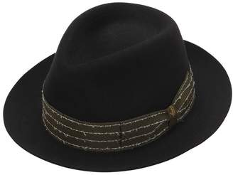 Borsalino Fur Felt Hat W/ Embroidered Hat Band