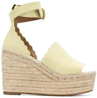 Chloé Lauren espadrille sandals