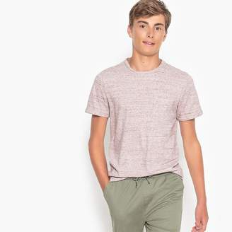 La Redoute Collections Cotton Mix Crew Neck T-Shirt 10-16 Years
