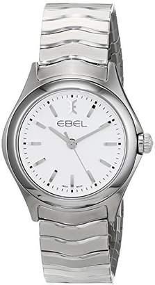 Ebel Womens Analogue Classic Quartz Watch with Stainless Steel Strap 1216192