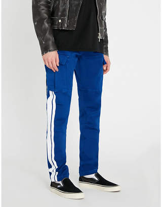 Amiri Stack Track skinny-fit stretch-cotton cargo trousers