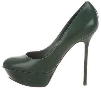 Sergio Rossi Patent Leather Pumps