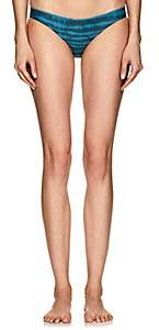 WOMEN'S ZUMA STRIPED BIKINI BOTTOM - WAVE SIZE XL