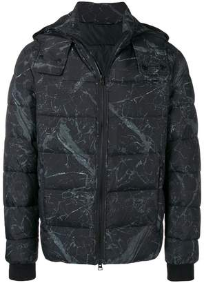 Etro printed hooded jacket