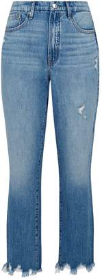 Good American Vintage Distressed High-Rise Jeans