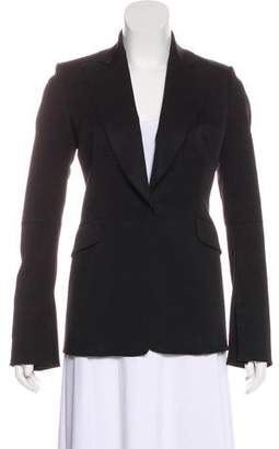 CNC Costume National Wool Raw-Edge Blazer