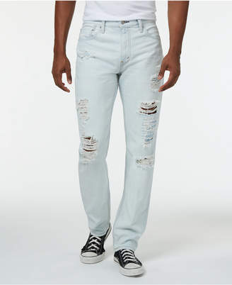 Levi's 511 Slim Fit Ripped Jeans $69.50 thestylecure.com