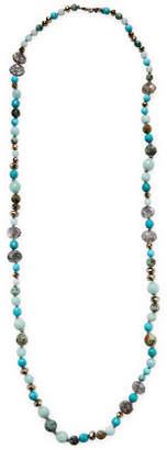 Chan Luu Silver Semi-Precious Stone Necklace