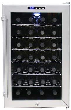 Whynter 28 Bottle Single Zone Freestanding Wine Cooler