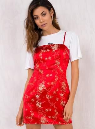 I.AM.GIA Red Kiko Dress